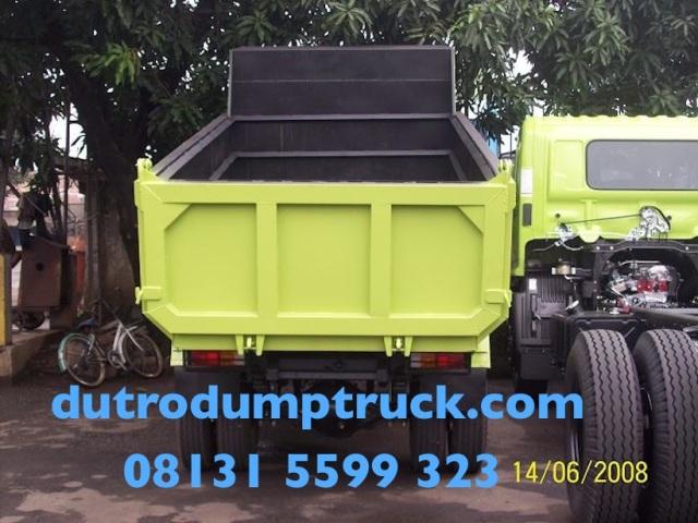 Hino Dutro 130 HD Karoseri Dump Truck 6 Kubik